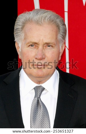 """Martin Sheen at the Los Angeles premiere of """"The Amazing Spider-Man"""" held at the Westwood Village Theater in Los Angeles, California, United States on June 28, 2012. - stock photo"""