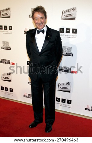 Martin Short at the American Cinematheque 26th Annual Award Presentation held at the Beverly Hilton Hotel in Beverly Hills on November 15, 2012.  - stock photo
