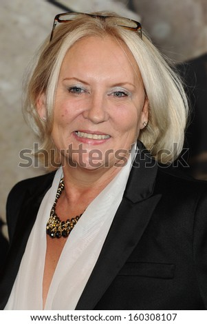 Martina Cole arriving for the Specsavers Crime Thriller Awards 2013 at the Grosvenor House Hotel, London. 24/10/2013 - stock photo