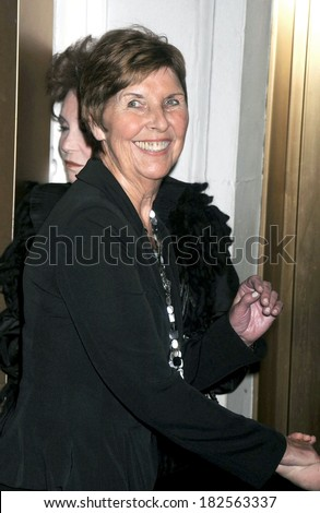 Mary South,, Tom Cruise's mother, at ALL MY SONS Opening Night on Broadway, Gerald Schoenfeld Theatre, New York, NY, October 16, 2008 - stock photo