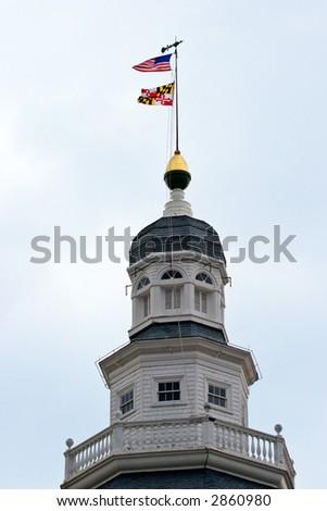 Maryland State House. Annapolis, Maryland, USA - stock photo