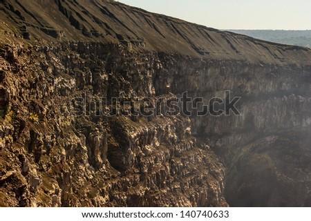 Masaya volcano area, Nicaragua - stock photo