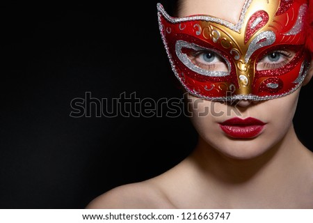 mask - stock photo