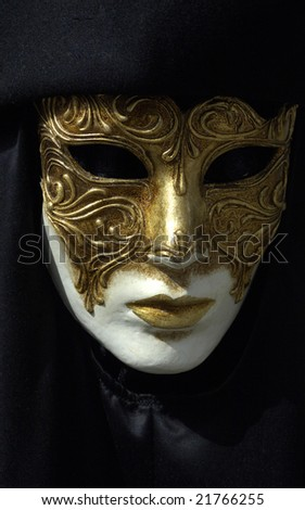 mask at Venice - stock photo
