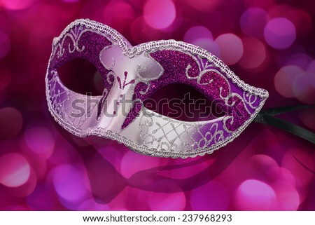 mask carnival - stock photo