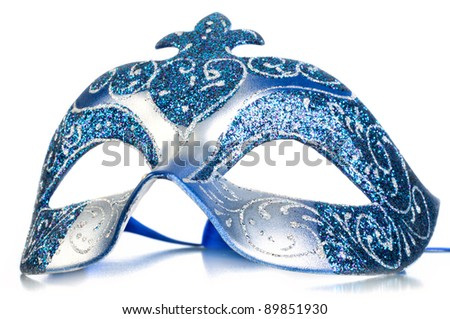 Mask carnival. - stock photo