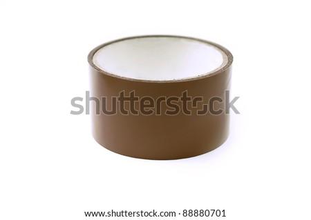 Masking packing tape - stock photo