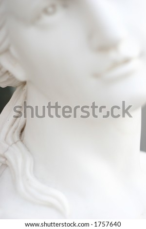 mass produced figures - stock photo