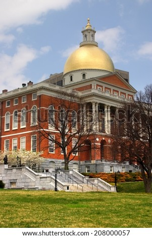 Massachusetts State House  - stock photo