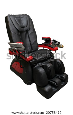 Massage armchair - stock photo