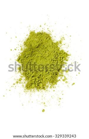 matcha tea - stock photo