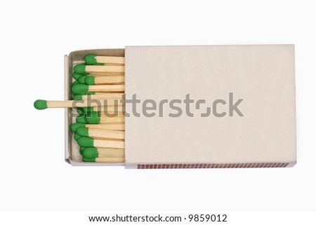 matchbox - stock photo