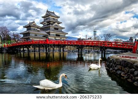 Matsumoto Castle  - stock photo