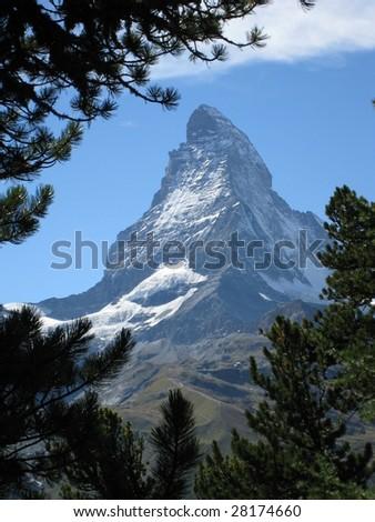 Matterhorn, Switzerland - stock photo