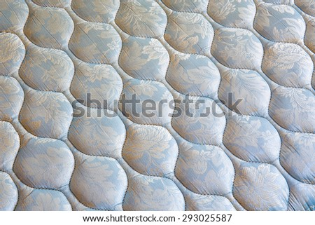 mattress bedding pattern - stock photo