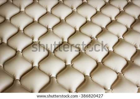 Mattress medical that does not allow bedsores consists of a plurality of cells filled with air - stock photo