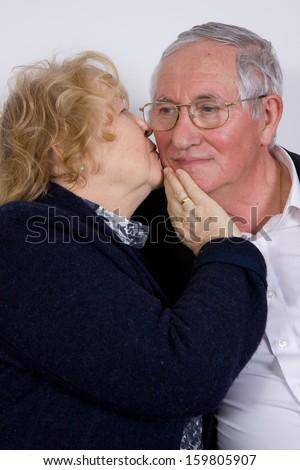 mature couple - stock photo