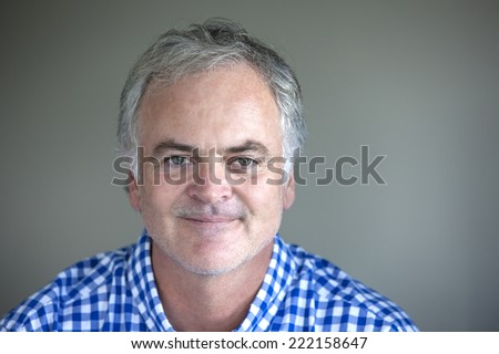 Mature man. - stock photo