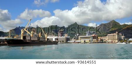 Mauritius - stock photo