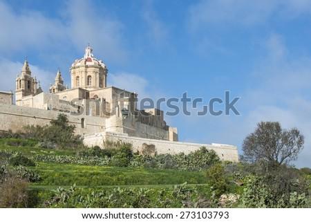 Mdina. Malta. - stock photo