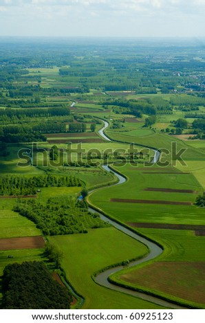 Meander - stock photo