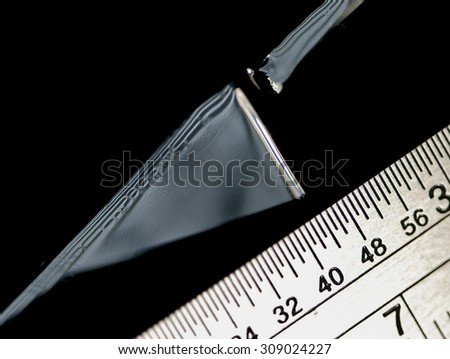 Measuring  - stock photo