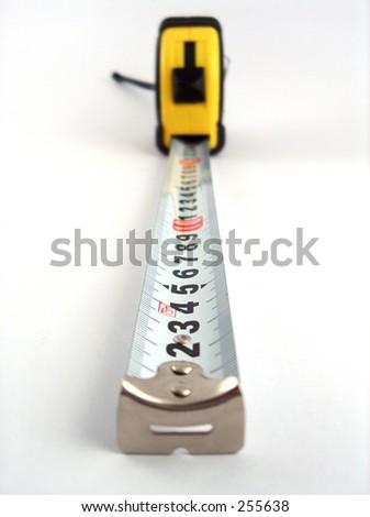 measuring tape - stock photo