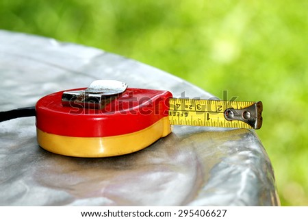 Measuring Tape - stock photo