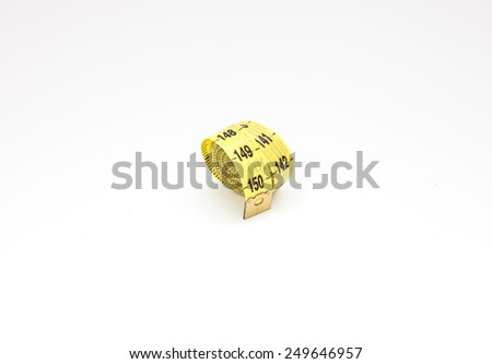 Measuring tape II - stock photo