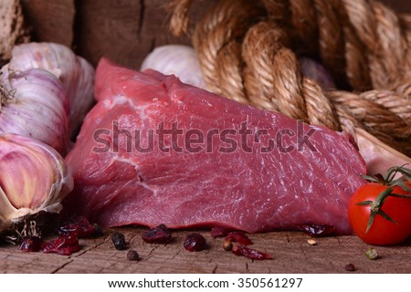 Meat beef - stock photo