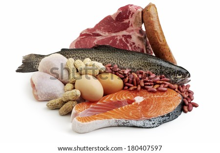Meat group - stock photo