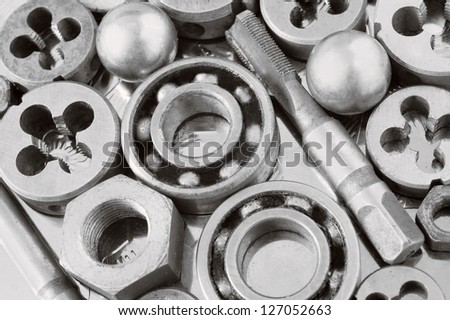 Mechanical ratchets - stock photo