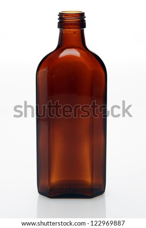 medcine bottle - stock photo