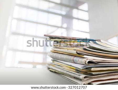 Media. - stock photo