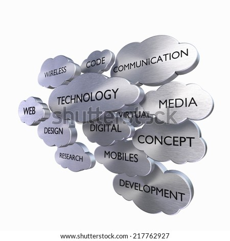 Media Technology Concept - stock photo