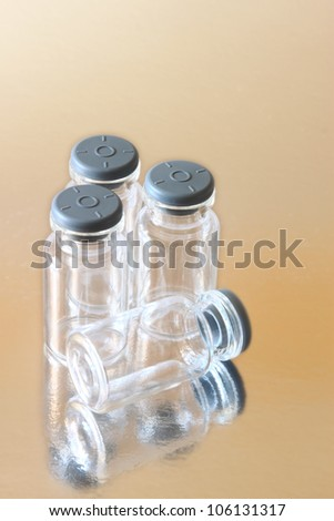 Medical ampules - stock photo