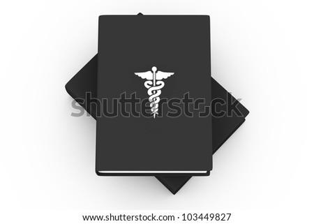 Medical books - stock photo