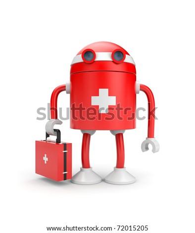 Medical bot - stock photo