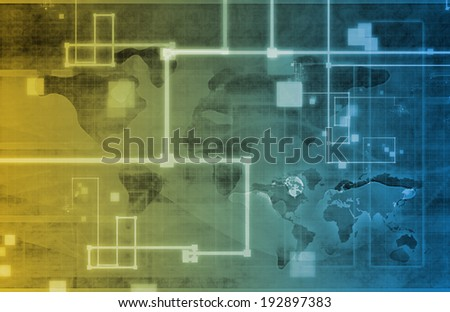 Medical Business Concept and Operations as Art - stock photo