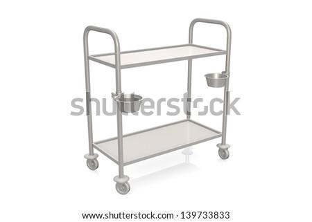 Medical cart - stock photo