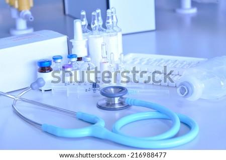 Medical diagnosis - stock photo