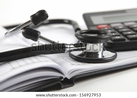 Medical expenses - stock photo