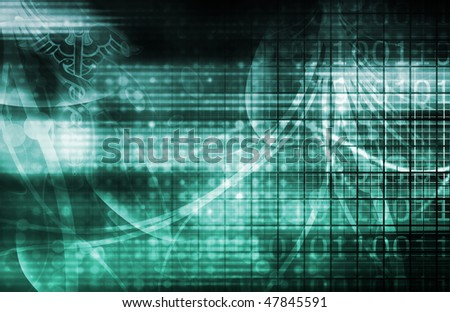 Medical Industry Background Technology as a Art - stock photo