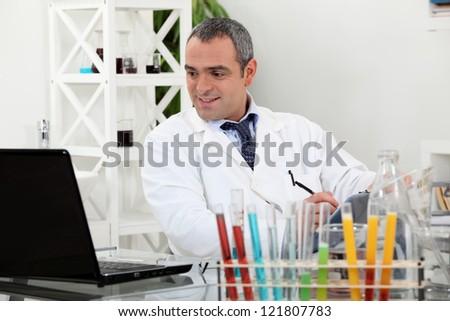 Medical Laboratory - stock photo