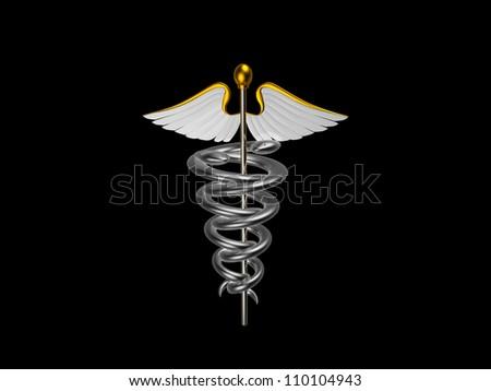 Medical logo - stock photo