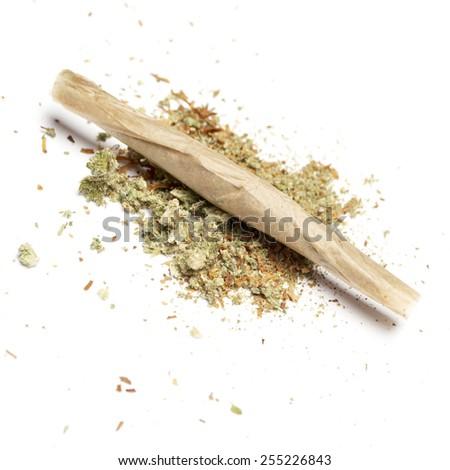 Medical Marijuana and Cannabis Buds - stock photo