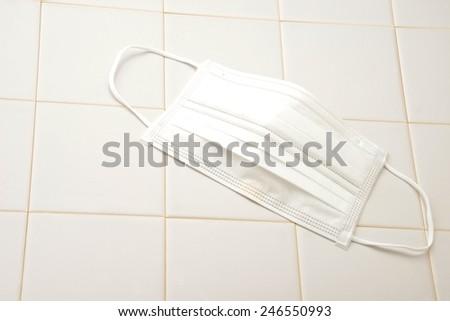 Medical mask - stock photo