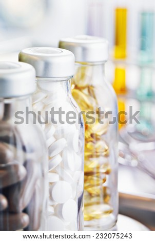 medical pills - stock photo