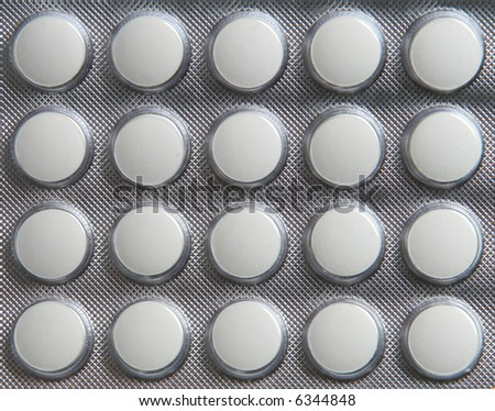 Medical product in packing photographed close up - stock photo