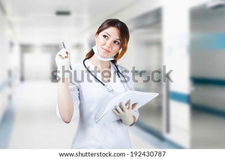 Medical professional   - stock photo
